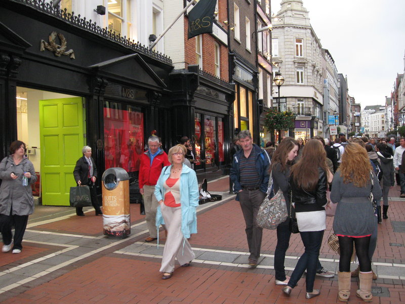 Marks and Spencers auf Grafton Street