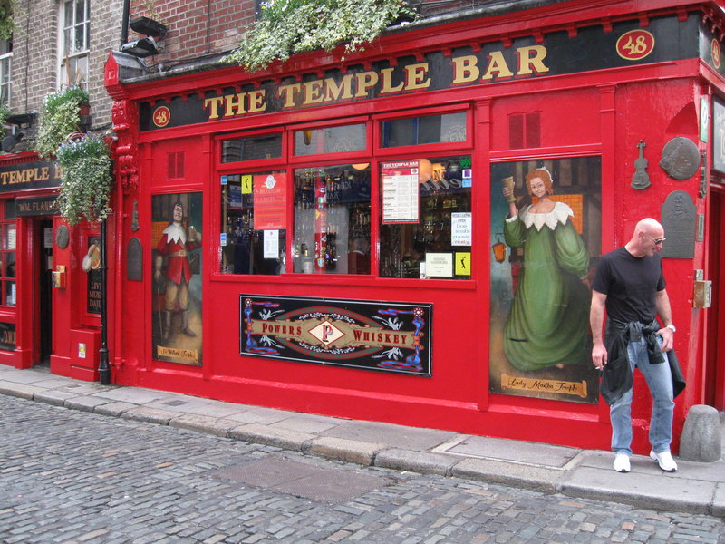Temple Bar Pub im Stadtteil Temple Bar